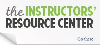 the Instructor's Resource Center