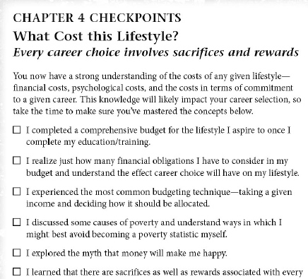 Chapter 4 Checkpoints book page